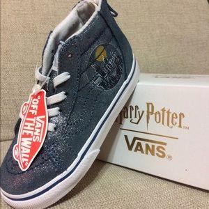 NWT Harry Potter Hogwarts Toddler Vans